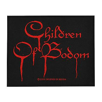 Children Of Bodom veren Logo kudottu Patch