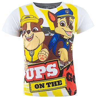 T-shirt Paw Patrol - Szczenięci na th Go!