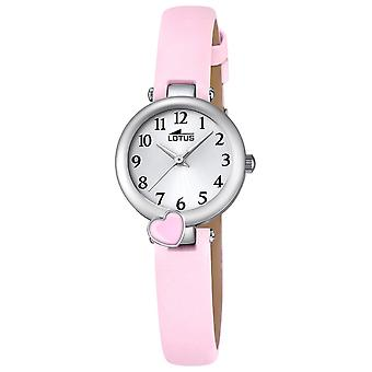 Lotus watches Quartz Analog Child Watch with Cowhide Bracelet 18268/2