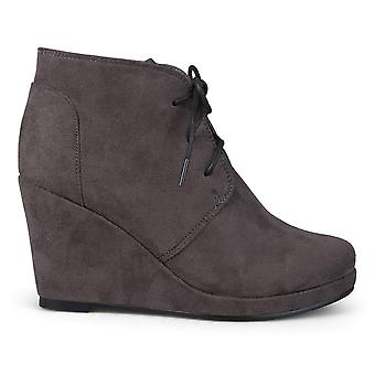 Brinley Co Women's Exit Ankle Boot