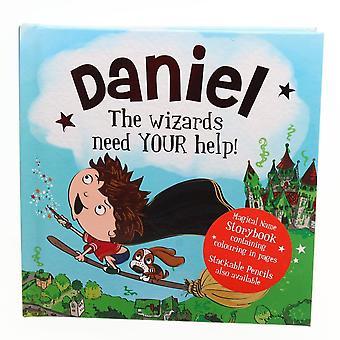 History & Heraldry Magical Name Storybook - Daniel