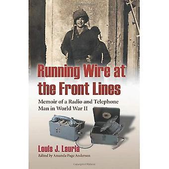 Prowadzenie drutu na froncie: Memoir radia i telefonu Man w II wojnie światowej