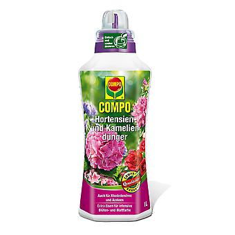 COMPO hydrangea and camellias fertilizer, 1 litre
