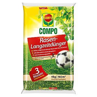 COMPO Prato fertilizzante a lungo termine, 4 kg
