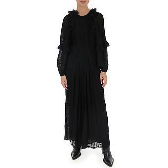 Isabel Marant ÉToile Ro157020p031e01bk Women's Black Cotton Dress
