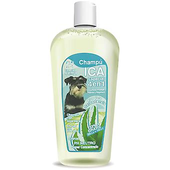 Ica Shampoo 4 in 1 400Cc Aloe Vera (Dogs , Grooming & Wellbeing , Shampoos)