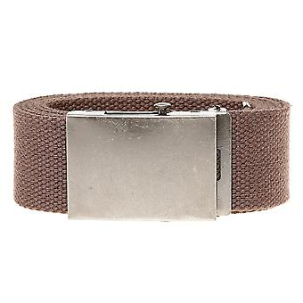 Duke Mens Edward Plain Webbing Belt