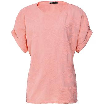 Grizas Rose Embroidered T-Shirt