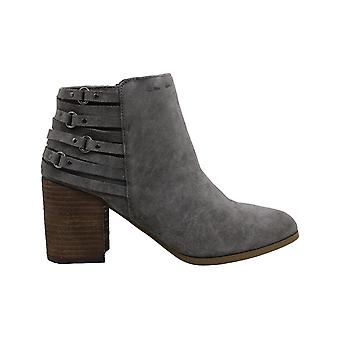 Fergie Womens Boston Suede Almond Toe Ankle Fashion Boots