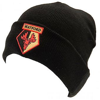 Watford FC Unisex Adults Knitted Hat