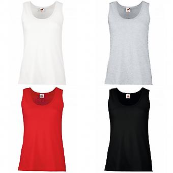 Fruit Of The Loom Ladies/Womens Lady-Fit Valueweight Vest