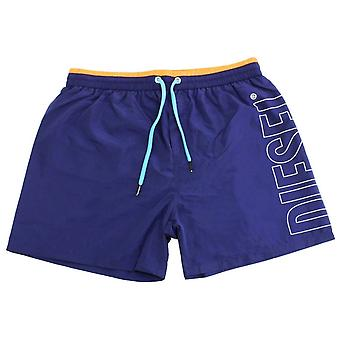 Diesel Fold and Go Swim Shorts - Navy/Pink
