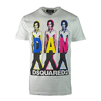 DSquared2 S74GD0498 S22427 100 T-Shirt