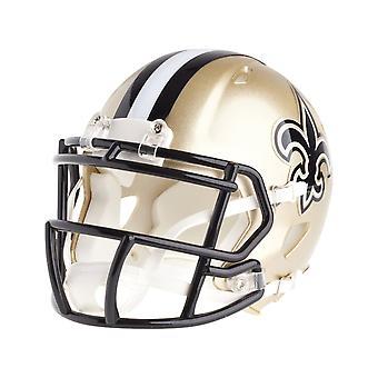 Riddell mini football helmet - NFL New Orleans Saints speed