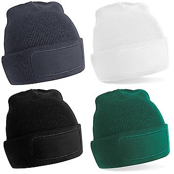Beechfield Unisex Plain Winter Beanie Hat / Headwear (Ideal for Printing)