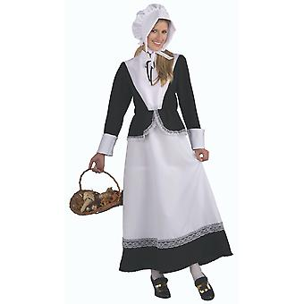 Pilgrim Colonial Lady Dress Up Women Costume Standard