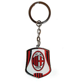 AC Milan Official Football Gift Metal Enamel Crest Keyring