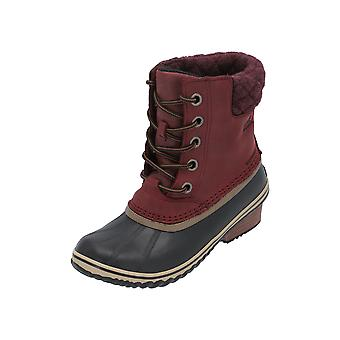 Sorel SLIMPACK II LACE Women's Boots Red Lace Boots Winter