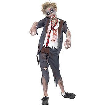 Zombie Halloween jongen Zombie vermomming