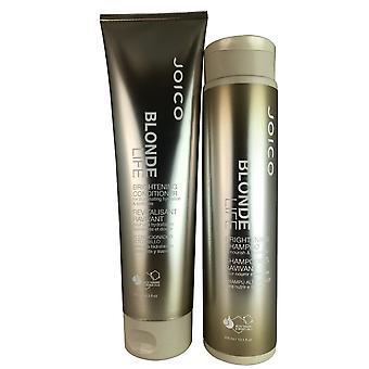 Joico blonde leven verhelderende haar shampoo en conditioner duo 10.1 oz/8.5 oz