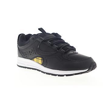DC Kalis Lite SE  Mens Black Leather Low Top Skate Sneakers Shoes