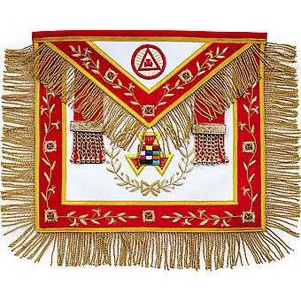 Masonic royal arch php past high priest apron bullion hand embroidered-nanba