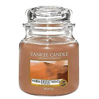 Yankee Kynttilä Classic Medium Jar Lämmin Desert Wind 411g