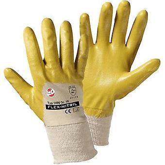 L+D worky Flex Nitril 1496 Nitrile butadiene rubber Protective glove Size (gloves): 10, XL EN 388 CAT II 1 Pair