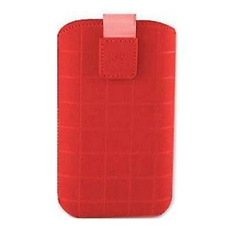 Custodia mobile universale Roma Xl KSIX Rosso (12,4 x 7,8 x 1,3 cm)