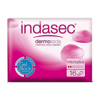 Incontinentie sanitair Pad Dermoseda Micro Plus Indasec (16 uds)