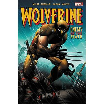 Wolverine Enemy Of The State by Mark Millar