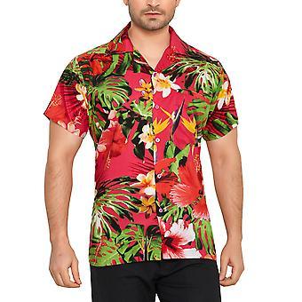 Club cubana miesten & #039; s säännöllinen sovi klassinen lyhythihainen rento paita ccc13