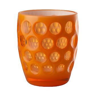Mario Luca Giusti Lente Short Plastic Tumbler Orange Fluo