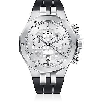 Edox - Armbandsur - Herrar - Delfin - Kronograf - 10110 3CA AIN