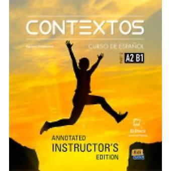 Contextos Levels A2-B1 - Tutor Manual - Spanish Course for Adolescents