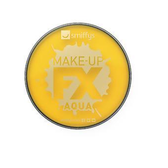 Smiffys Make-Up FX, gul, Aqua ansigt & krop maling, 16ml vand baseret Fancy kjole tilbehør