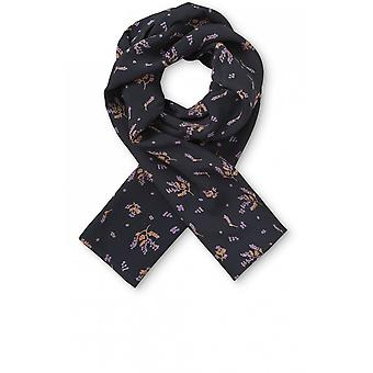 Masai Clothing Along Delicate Floral Print Scarf