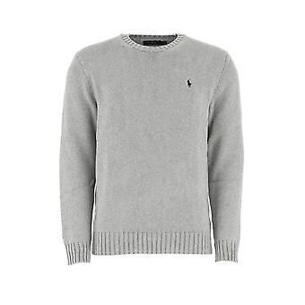 Ralph Lauren 710727573011 Mænd's Grå Bomuldssweater