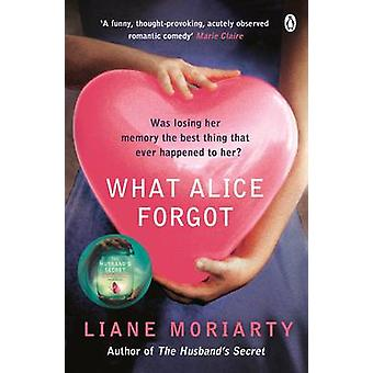 What Alice Forgot by Liane Moriarty - 9780141043760 Book
