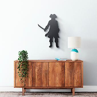 Metal Wall Art - Pirate #2