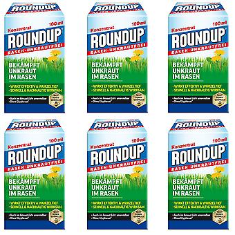 Sparset: 6 x ROUNDUP® Lawn Weed-Free, 100 ml