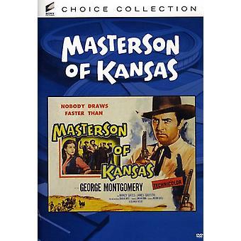 Masterson of Kansas (1954) [DVD] USA import