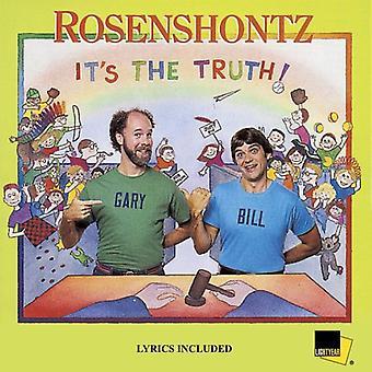 Rosenshontz - It's the Truth [CD] USA import