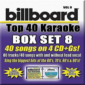 Party Tyme Karaoke: Billboard Top 40 Boxset 8 / Va - Party Tyme Karaoke: Billboard Top 40 Boxset 8 / Va [CD] USA import