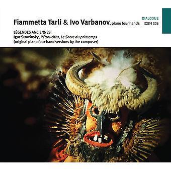 Stravinsky / Tarli / Varbanov - Legendes Anciennes [CD] USA import