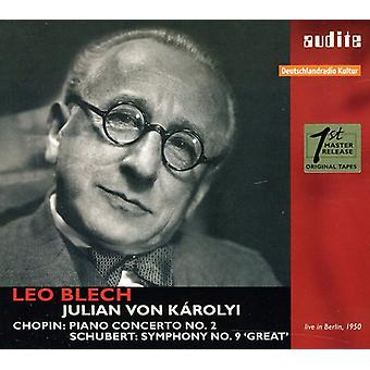 ショパン ・ シューベルト ・ ショパン: ピアノ協奏曲第 2;シューベルト: 交響曲第 9 '素晴らしい' [CD] アメリカ インポートします。