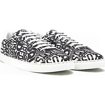 Dsquared2 All Over Logo Tennis Sneakers