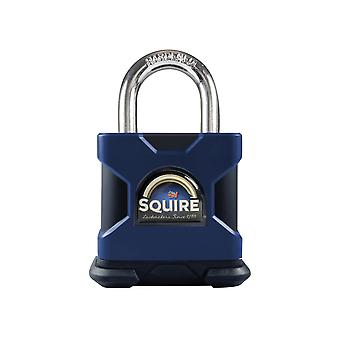 Henry Squire SS50S Stronghold Solid Steel Padlock 50mm CEN4 HSQSS50S