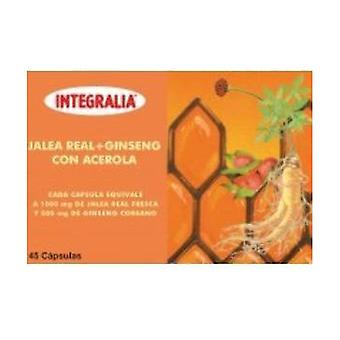 Royal Jelly and Ginseng with Acerola Cherry 45 capsules
