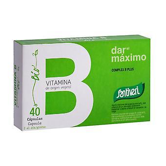 Vitamin Complex B Plus Bio 40 capsules